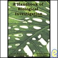 Hand book of Biological investigation