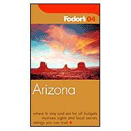 Fodor's Arizona 2004