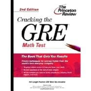 Cracking the GRE Math Test, 2nd Edition