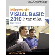 Microsoft� Visual Basic 2010 for Windows, Web, Office, and Database Applications: Complete, 1st Edition