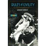 Rules of Civility A Novel