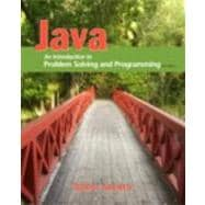Java : An Introduction to Problem Solving and Programming