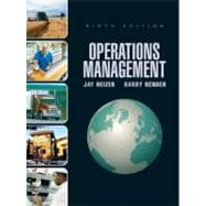 Operations Management, 9/E