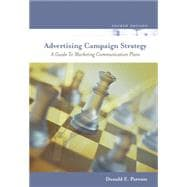 Advertising Campaign Strategy : A Guide to Marketing Communication Plans