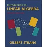 Introduction to Linear Algebra 4e
