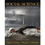 Social Science : An Introduction to the Study of Society