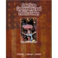 American Government and Politics Today, 2003-2004Edition (Non-InfoTrac Version with CD-ROM)