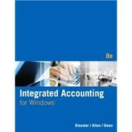 Integrated Accounting (with General Ledger CD-ROM)