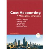 Cost Accounting and MyAcctgLab Access Code  Value Package (includes Financial Accounting and Financial TIPS)
