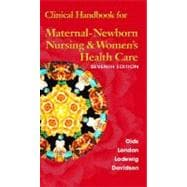 Clinical Handbook for Maternal Newborn Nursing and Women's Health Care