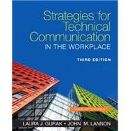 Strategies for Technical Communication in the Workplace Plus MyWritingLab with Pearson eText