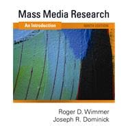 Mass Media Research An Introduction