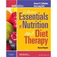 Williams' Essentials of Nurtition and Diet Therapy - Revised Reprint, 10/E
