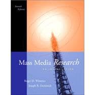 Mass Media Research An Introduction (with InfoTrac)