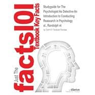 Outlines & Highlights for The Psychologist As Detective An Introduction to Conducting Reasearch in Psychology