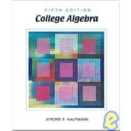 College Algebra With Infotrac