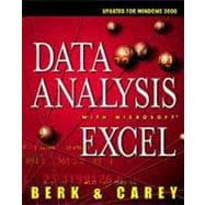 Data Analysis with Microsoft Excel : Updated for Office 2000