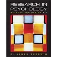 Research In Psychology: Methods and Design, 6th Edition