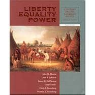 Liberty,Equality,Power,V1 W/Infotrac