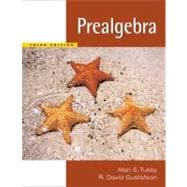 Prealgebra (Book with CD-ROM)