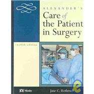 Alexander's Care of Patient in Surgery
