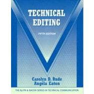 Technical Editing with NEW MyTechCommLab without Pearson eText -- Access Card Package