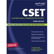 Kaplan CSET; California Subject Examination for Teachers