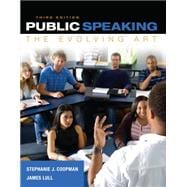 Public Speaking The Evolving Art (with MindTap� Speech Printed Access Card)