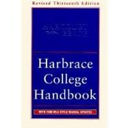 Harbrace College Handbook: With 1998 Mla Style Manual Updates