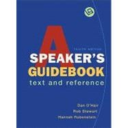 A Speaker's Guidebook