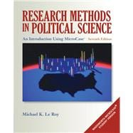 Research Methods in Political Science An Introduction Using MicroCase ExplorIt