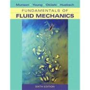 Fundamentals of Fluid Mechanics, 6th Edition