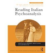 Reading Italian Psychoanalysis 9781138932852R