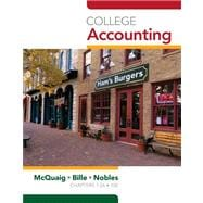Working Papers with Study Guide, Chapters 1-12 for McQuaig/Bille/Noble�s College Accounting, 10th