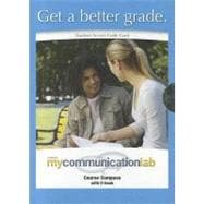 MyCommunicationLab CourseCompass with Pearson eText -- Standalone Access Card -- for The Interpersonal Communication Book