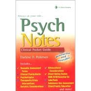 Psych Notes : Clinical Pocket Guide