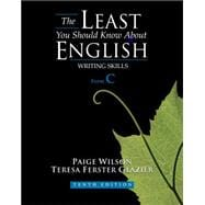 The Least You Should Know About English Writing Skills, Form C