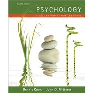 Psychology Modules for Active Learning (with Concept Modules with Note-Taking and Practice Exams Booklet)