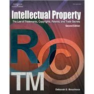 Intellectual Property for Paralegals The Law of Trademarks, Copyrights, Patents, and Trade Secrets