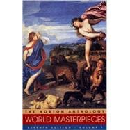 Norton Anthology of World Masterpieces: The Western Tradition : Literature of Western Culture Through the Renaissance
