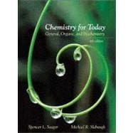 CHEM F/TODAY:GENERAL, ORGANIC & BIOCHEMISTRY W/INFOTRAC