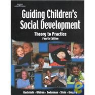 Guiding Children's Social Development: Theory to Practice