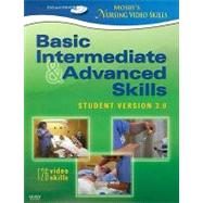 Mosby's Nursing Video Skills Student Version 3.0 Intermediate & Advanced Skills (DVD and DVD-ROM)