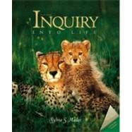 Inquiry into Life With Esp, E-Text Cd-Rom, and Student Study Guide