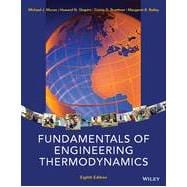 Fundamentals of Engineering Thermodynamics, 8/E