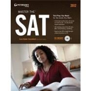 Peterson's Master the SAT 2012: Includes Qr (Quick Response) Codes for Use With Mobile Phones With Camera or Smartphones