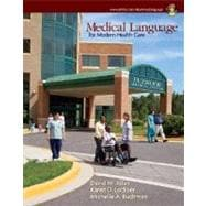 Medical Language for Modern Health Care with Student CD-ROM