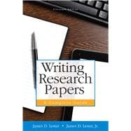 Writing Research Papers A Complete Guide (paperback)