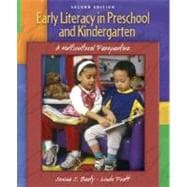 Early Literacy in Preschool and Kindergarten : A Multicultural Perspective