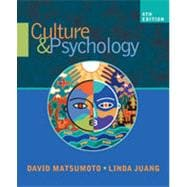 Culture and Psychology, 4th Edition